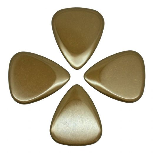 Metal Tones Brass 4 Guitar Picks